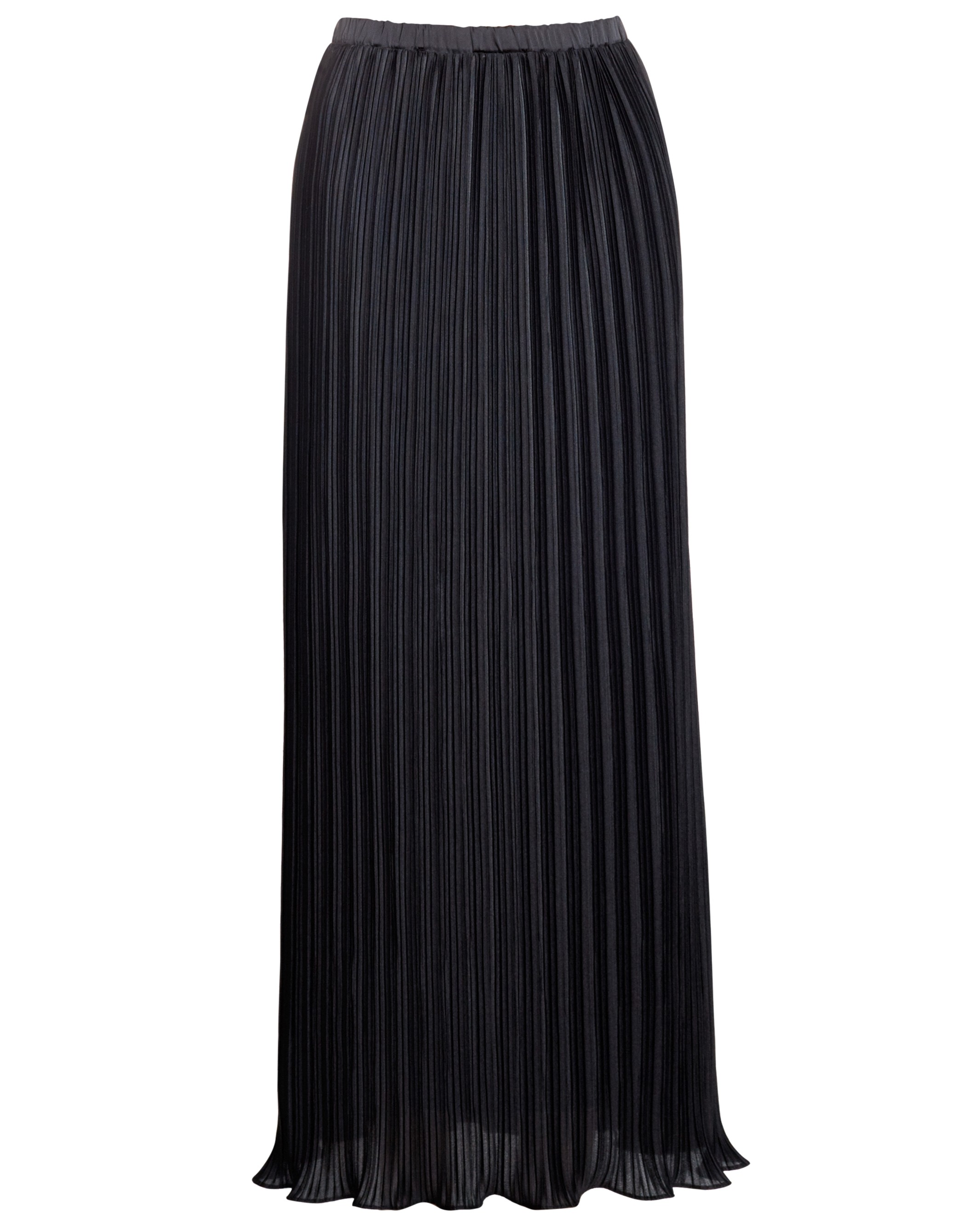 """39"""" Lined Feather Pleat Skirt"""