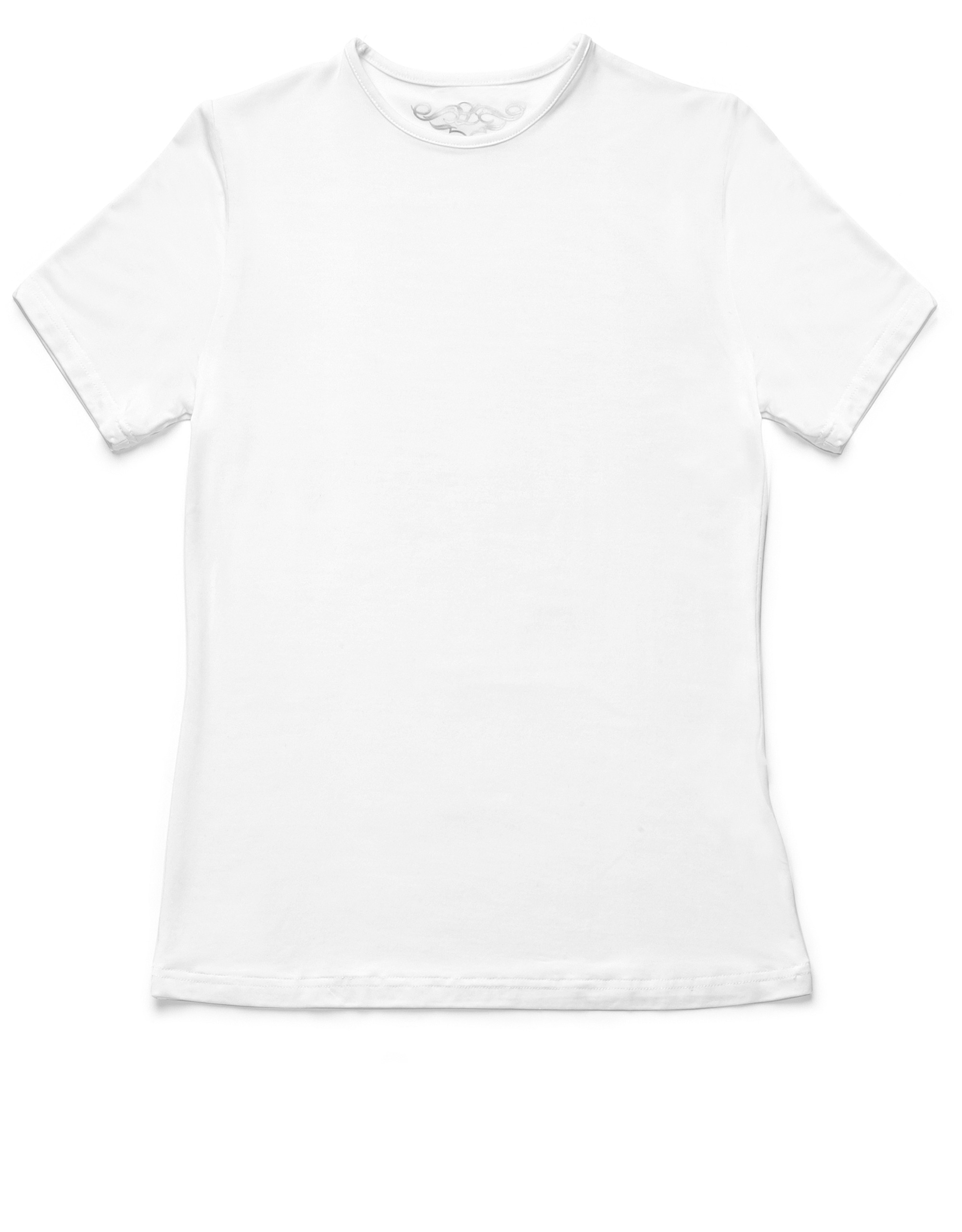 Cotton Modal Short Sleeve Crew Neck Shell