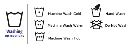 What does the washing symbol on your fabric care label mean?